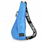 Outdoor Multifunctional Shoulder Bag Messenger Bag - Sky Blue (3L)