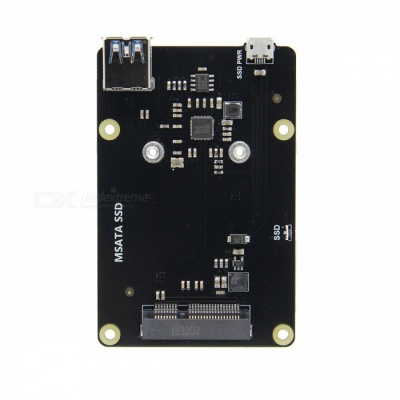 SupTronics X850 mSATA SSD Storage Expansion Board for Raspberry Pi
