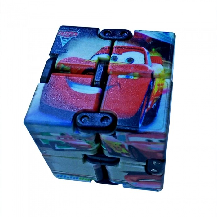 infinity cube. dayspirit cartoon cars pattern infinity cube magic square spinner toy