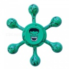 Dayspirit Hulk Pattern Finger Stress Relief Gyro Rotator Toy - Green