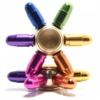 Six Colors Bullet Shape Fidget Finger Hand Spinner EDC Toys (2 PCS)