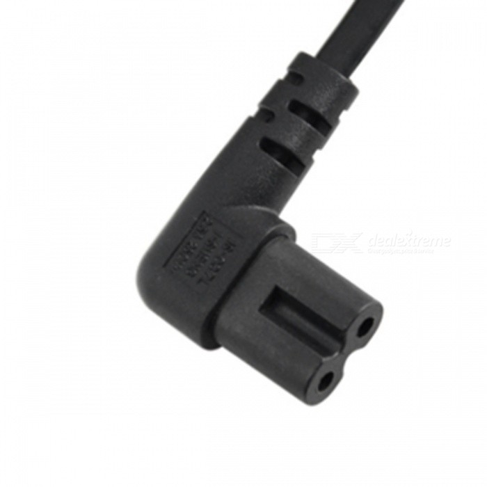 Cy Pw 039 Eu 1 0m 1m Europe 2pin Male To 90 Degree Right