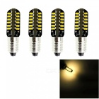 HONSCO E10 48SMD 3014 3W LED Miniature Screw Bulbs for DIY (4 PCS)