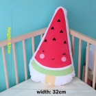 Baby Cute Catoon Watermelon Pattern Cushion Pillow - Pink