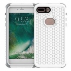 Detachable Dual Use Waterproof Anti Fall Mobile Phones Shell - White