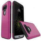 Protective Wire Drawing PC, TPU Back Case for LG G5 - Deep Pink