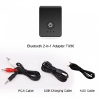 APTX Lossless Bluetooth Receiver Transmitter - Black