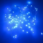 SZFC USB 5V 10m Waterproof Aluminum Blue Light String - Silver