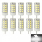 JRLED G4 4W LED Light Lamps Cold White 36-SMD 2835 (ACDC12V 10PCS)