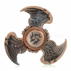 Buy BLCR Tri-Wing Style Fidget Relief Toy EDC Finger Spinner - Brown