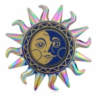 Buy BLCR Sun God Pattern Fidget Relief Toy EDC Finger Spinner - Multicolor