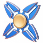 Buy BLCR 4-Clamp Style Fidget Relief Toy EDC Finger Spinner - Blue