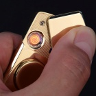 TH-730 USB Charging Windproof Lighter, Gyro Spinner (Color Random)
