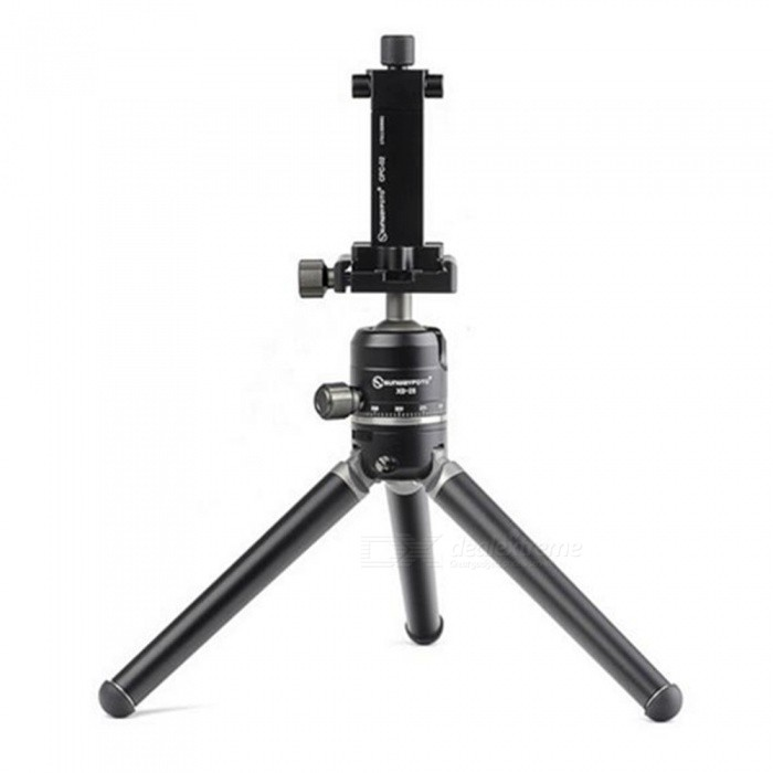 SUNWAYFOTO T1A20D-T Mini Table Aluminum Tripod - BlackTripods and Holders<br>Form  ColorBlackModelT1A20D-TMaterialAluminumQuantity1 setShade Of ColorBlackTypeTripodRetractableYesFold Dimensions20 45Folded Size30 x 20 x 20 cmFull Size 30cx 20cx 20 cmMin.Height15.3 cmMax.Height25.5 cmMax.Load5 kgSection Number2Packing List1 x T1A20D-T Tripod<br>