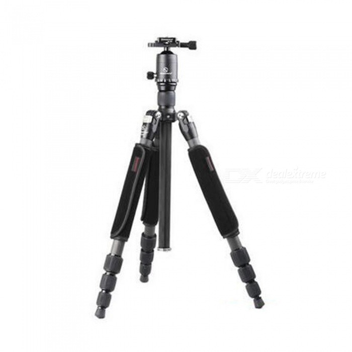SUNWAYFOTO T1C40T-T1 Carbon Fiber Professional Camera Tripod for DSLR