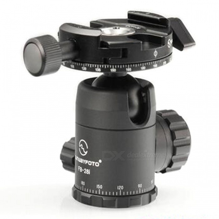 SUNWAYFOTO FB-28DDHI Tripod Ball Head Quick Release Clamp