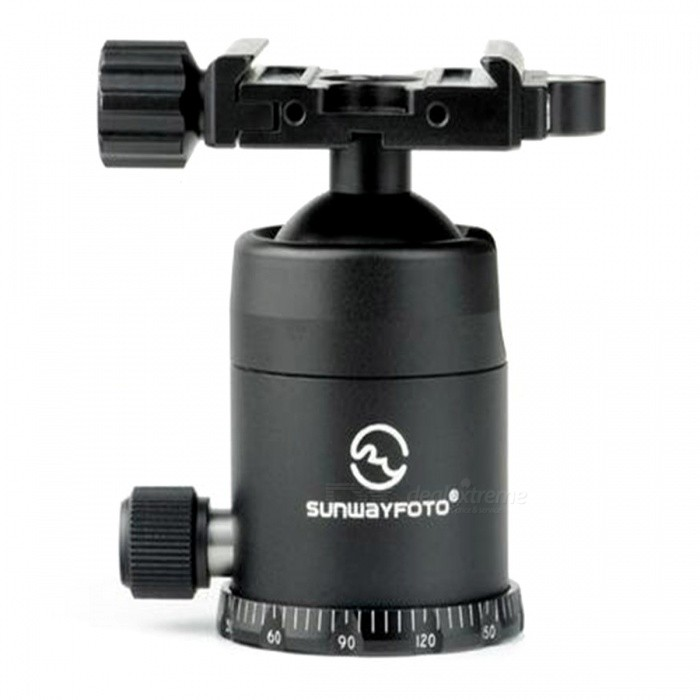 SUNWAYFOTO FB36III Tripod Head Quick Release Clamp for DSLR - Black