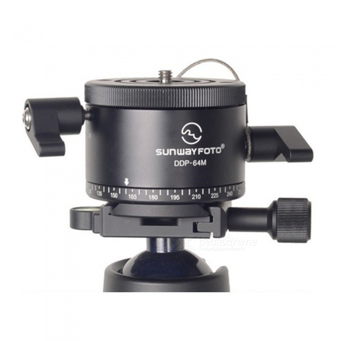 SUNWAYFOTO DDP-64M Professional Aluminum Indexing Head for DSLRTripods and Holders<br>Form  ColorBlackModelDDP-64MMaterialAluminumQuantity1 setShade Of ColorBlackTypeOthers,Indexing HeadRetractableNoMax.Load10 kgPacking List1 x DDP-64M Indexing Head1 x Manual1 x Screw1 x Screw driver<br>