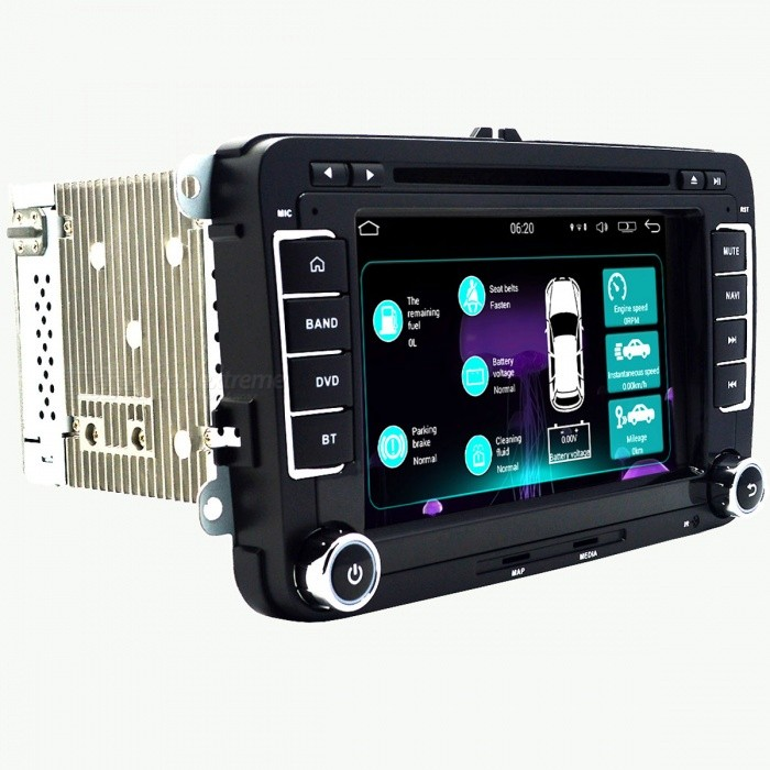 Funrover Updated Version Quad-Core Android Auto DVD-Player für VW