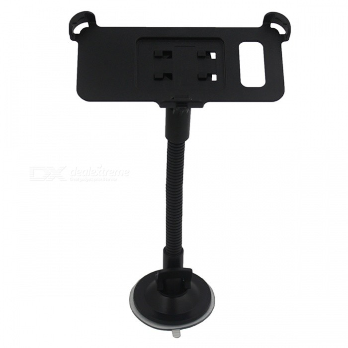 Suction Cup Flexible Neck Car Mount Holder for GALAXY S8 - Black