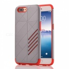 Dual Layer PC TPU Case for OPPO R11 - Grey, Red