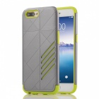 Dual Layer PC TPU Case for OPPO R11 - Grey, Green