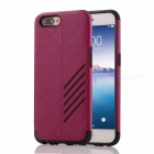 Dual Layer PC TPU Case for OPPO R11 - Deep Pink