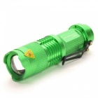 Ultrafire UK68 Portable 3-Mode 14500 LED Flashlight Set - Green