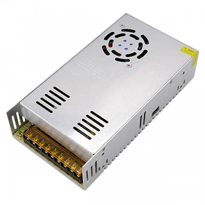 ZHAOYAO DC 12V 30A 360W Switching Power Supply for LED Strip - Silver
