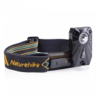 NatureHike LED Rechargeable Long-Range Headlamp - Black, Orange