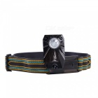 NatureHike LED Rechargeable Long-Range Headlamp - Black, Blue