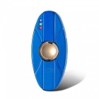 ZHAOYAO USB LED Double-sided Metal Fingertip Gyro Lighter - Blue