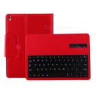 Bluetooth Keyboard PU Leather Case for IPAD Pro 10.5 inches - Red