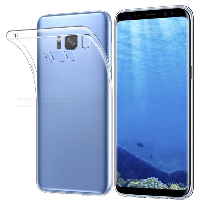 Mr.northjoe Transparent Clear Protective Case for Samsung Galaxy S8