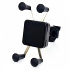 Anti-Slip Universal 360 Rotating Bicycle Phone Holder - Black