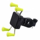 Anti-Slip Universal 360 Rotating Bicycle  Phone Holder - Green