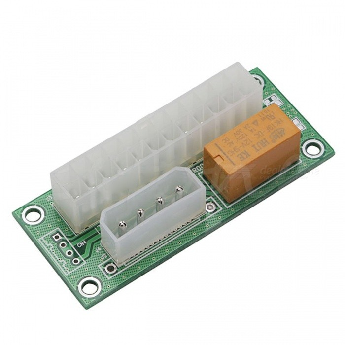 VER003 Dual Power Supply Synchronous Start Line CardBoards &amp; Shields<br>Form  ColorGrass Green + WhiteModelVER003Quantity1 setMaterialABSEnglish Manual / SpecNoDownload Link   NOPacking List1 x Start card<br>