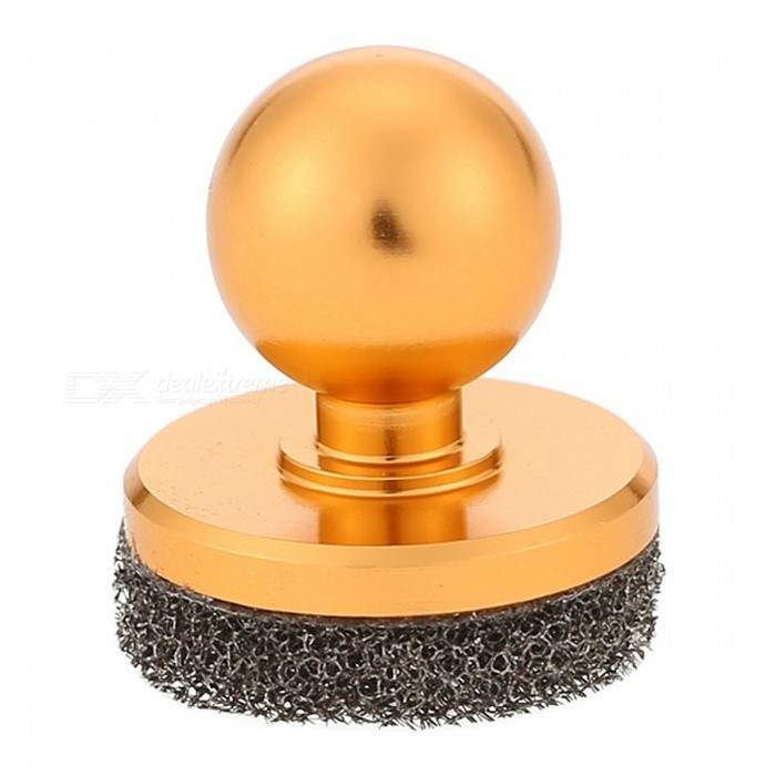 Game Handle Wireless Controller Mini Joystick with Suction Cup -Golden