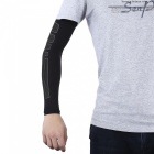 Sports Basketball Playing Extended Arm Elbow Protector - Black (XL)