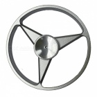 OJADE Benz Logo Style Hand Spinner Fingertip Gyro EDC Toy - Silver