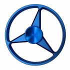OJADE Benz Logo Style Hand Spinner Fingertip Gyro EDC Toy - Blue