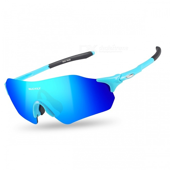 NUCKILY PA08 Outdoor Riding Anti-wind Sand-Proof Glasses - Blue