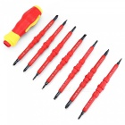 AC-19 380V Electrical Tool, Insulated Screwdriver Tool Set - Red