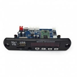 Bluetooth 4.0 MP3 Decoding Module with Cable and Remote Controller