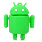 Cute Google Android Robot Style USB Flash/Jump Drive - Green (16GB)