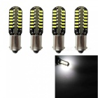 HONSCO BAX9S 48SMD 3014 Cold White 3W LED Reading Lights (4PCS DC12V)