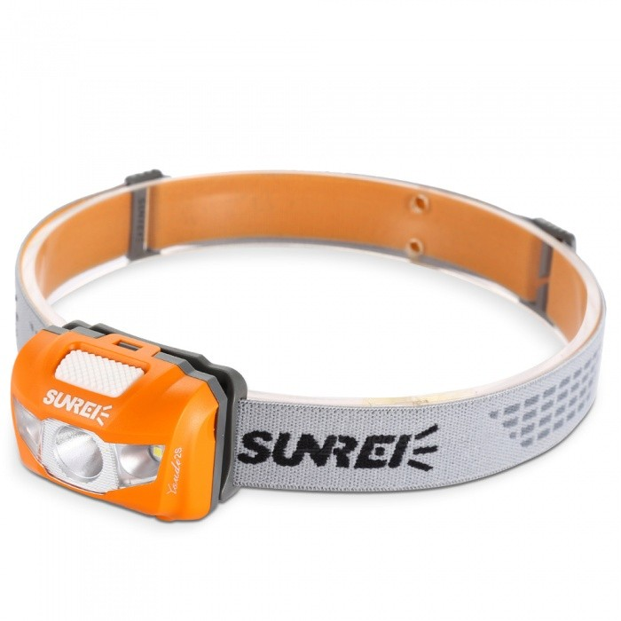SUNREI Yue Move Youdo 2S XP-G3 R4 3-LED White Headlight - Orange