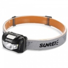 SUNREI Yue Move Youdo 2S XP-G3 R4 3-LED White Headlight - Black