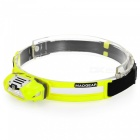 MAOGEAR Coolpad Lightweight Headlight with Warning Light - Yellow