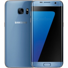 "Samsung Galaxy S7 Edge G935FD 5.5"" Dual SIM Phone w/ 4GB, 32GB - Blue"